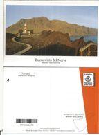 CANARIAS TENERIFE ENTERO POSTAL BUENAVISTA DEL NORTE TARIFA A FARO LIGHTHOUSE - Lighthouses