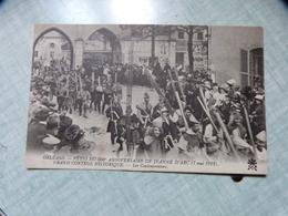 45, ORLEANS, FETES DE JEANNE D'ARC, 500e ANNIVERSAIRE 1929, GRAND CORTEGE HISTORIQUE, LES COULEUVRINIERS - Orleans