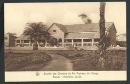 +++ CPA - Afrique - Congo Belge - Société Des Chemins De Fer Vicinaux - BONDO - Hotellerie Zande - Nels    // - Congo Belge - Autres
