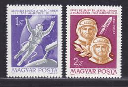 HONGRIE AERIENS N°  270 & 271 ** MNH Neufs Sans Charnière, TB (D6069) Cosmos, Voskhod II - Airmail
