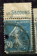 France Ob N° 192  - Pub - Le Secours - Reclame