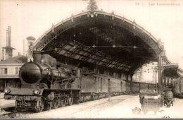 LES LOCOMOTIVES - Gares - Avec Trains