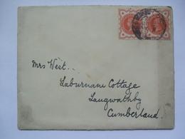 GB - 1900 Cover London To Langwathby Cumberland - Rare Postmark - Briefe U. Dokumente