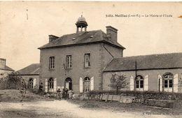 MEILLAC La Mairie Et L'école - France