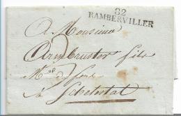 FP205 / FRANKREICH -  Rambertviller 1808 Nach Schletstadt - Poststempel (Briefe)