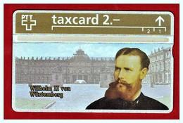 """SWITZERLAND: K-222A Series Die Goldenen Konigskarten """"Wilhelm II Von Württemberg"""" CN:305L (10.000ex) - Switzerland"""