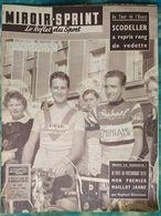 Miroir Sprint 635 04/08/1958 Football Coupe Du Monde France-Brésil (Suède) - Cyclisme - Natation - Springboks Rugby - Sport