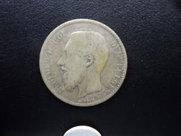 BELGIQUE : 1 FRANC  1886 / 66   KM 28.1    TB - 07. 1 Franc
