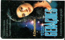 PHONECARDS---PORTUGAL--TELECOM CARD-- 50 U-  GERAÇÕES-- STAR TREK-- A CONSELHEIRA - Portugal