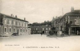 CPA - CHATENOIS (88) - Aspect De L'Ecole Des Filles Dans Les Années 20 - Chatenois