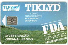 PHONECARDS---PORTUGAL--LP-- 10U-- TIKLYD - Portugal