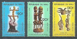 Mali YT N°327/329 Journée Internationale Des Musées Neuf ** - Mali (1959-...)