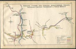 Wales Bargoed, Cymmer, Deri, Hengoed, Maesycwmmer, Penallta, Tredegar Junction, Treherbert, Ystrad Mynach Railway Map - Landkarten