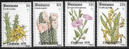 Botswana, Scott # 221-4 MNH Christmas, Flowers, 1978 - Botswana (1966-...)