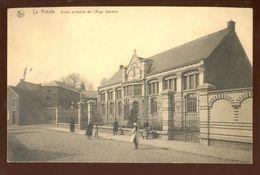 Cpa Le Roeulx  1933   Ecole - Le Roeulx
