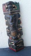 Statuette Du Mexique En Bois - Hauteur : 21-5-cm - Wood