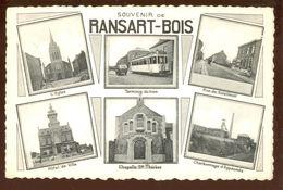 Cpa Ransart   Tram Et Charbonnage...   1950 - Charleroi
