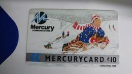 Mercury-(8mer10)-christmas-gpt Card-(5)-(10£)-used Card+1card Prepiad Free - United Kingdom