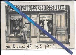 Carte Photo Bar Le Duc - Superbe - Bandagiste Mr Me Talagrand -1924 - Bar Le Duc