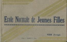 Carnet 15 CPA FOIX Ecole Normale De Jeunes Filles - Foix