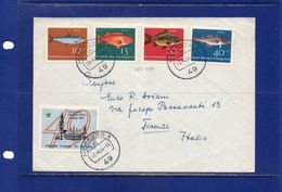 ##(DAN183)POSTAL HISTORY-Germany-1964- Cover From Herford To Firenze(Italy) With Esperanto Label - Esperanto