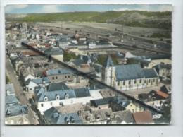 CPM Coupée -  En Avion Au Dessus De...3.Saint Etienne Du Rouvray -(Seine-Maritime) -Rue Gambetta Et Quartier De L'église - Saint Etienne Du Rouvray
