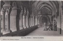 FR66 ELNE - Fau émail - Intérieur Du Cloitre - Catalanes - Animée - Belle - Trachten & Folklore
