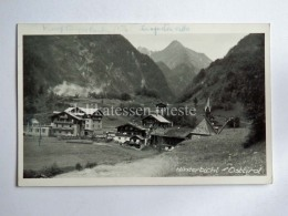 AUSTRIA HINTERBICHL Osttirol AK Old Postcard - Prägraten