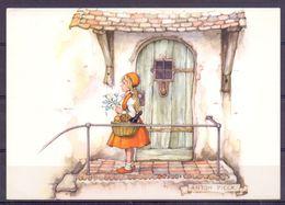 Nederland - Illustrators - Anton Pieck - Gebruikt - Roodkapje -  2 Scans - Illustrators & Photographers