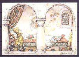 Nederland - Illustrators - Anton Pieck - Gebruikt - Doornroosje -  2 Scans - Andere Illustrators