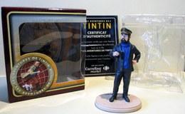 Figurine Tintin - Capitaine Haddock Dans Sa Boîte D'origine Avec Certificat D'authenticité - Tintin