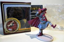 Figurine Tintin - Rackham Le Rouge Dans Sa Boîte D'origine Avec Certificat D'authenticité - Tintin