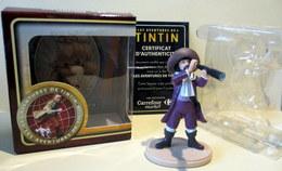 Figurine Tintin - François De Haddoque Dans Sa Boîte D'origine Avec Certificat D'authenticité - Tintin