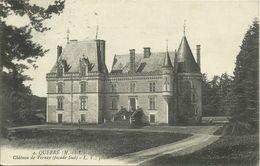 CPA Château Vernay Façade Sud / Querré 1913 Le Lion D'Angers #01 - Angers