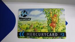 Mercury-(mer028)-gpt Card-(10)-(2£)-used Card+1card Prepiad Free - United Kingdom