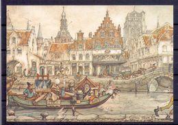 Nederland - Illustrators - Anton Pieck - Ongebruikt - 103 -  2 Scans - Künstlerkarten