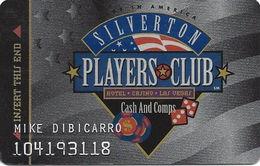 Silverton Casino - Las Vegas, NV - 1st Issue Slot Card - Casino Cards