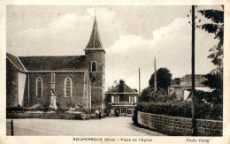 N°4099 A -cpa Ranes -Rouperroux -place De L'église- - Frankreich