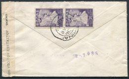 1945 Greece Athens Censor Cover Ilford, Essex - Greece