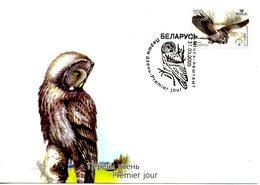 BIELORUSSIE. N°523 De 2005 Sur Enveloppe 1er Jour. Chouette. - Hiboux & Chouettes