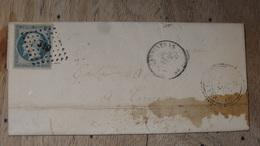 Lettre Avec Cachet De CARPENTRAS ........... M26 - Postmark Collection (Covers)