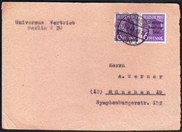 Germany Berlin 1948 / 6 Pfennig + 6 Pfennig Overprinted Sowjetische Besatzungs Zone / Soviet Zone - Soviet Zone