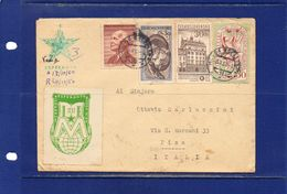 ##(DAN183) ESPERANTO-Czechoslovakia -1960-Esperanto  Cover From Mlada Boleslav  To Pisa (Italy) - Esperanto