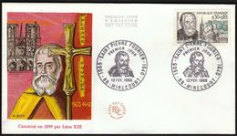 France Mirecourt 1966 / St. Pierre Fourier / FDC - FDC