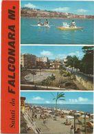 X1203 Saluti Da Falconara Marittima (Ancona) - Panorama Vedute Multipla / Viaggiata 1968 - Altre Città