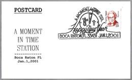 A MOMENT IN TIME - RELOJ - CLOCK. Boca Raton FL 2001 - Relojería