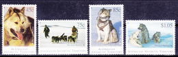 AAT 1994 Australia Antarctic Huskies (Yv 98 To 101 ) MNH - Other Means Of Transport