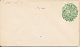 El Salvador Postal Stationery Cover Green 10 Centavos In Mint Condition - El Salvador