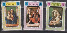 GRENADA Scott # 387-9 MH - Christmas 1970 - Grenada (...-1974)