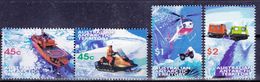 AAT 1998 Australia Antarctic Transportation (Yv 115 To 118 ) MNH - Other Means Of Transport